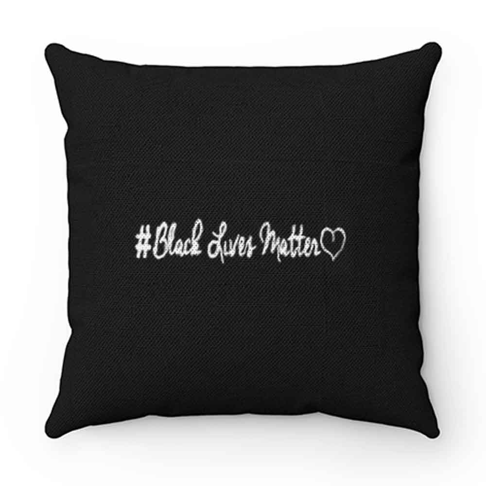 Black Lives Matter With Love Pillow Case Cover