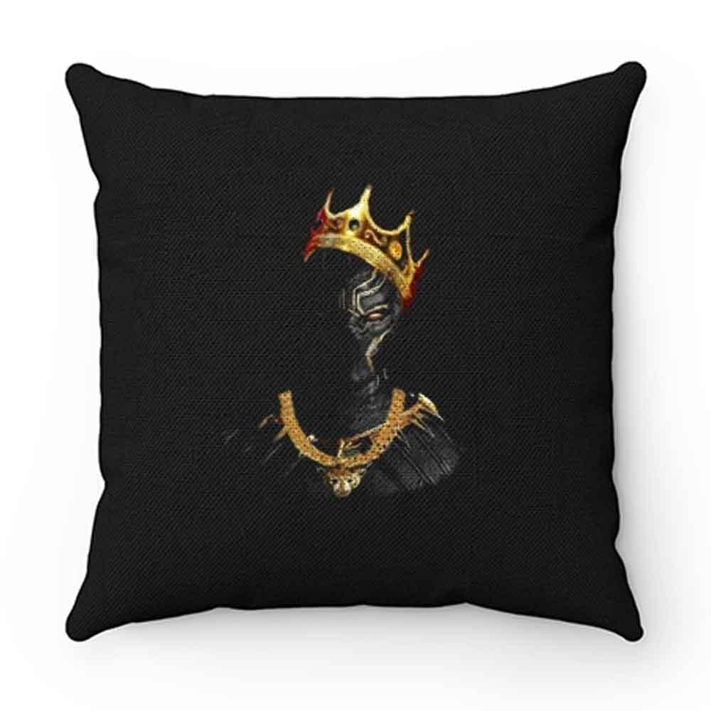 Black Panther Notorious Big King Mashup Pillow Case Cover