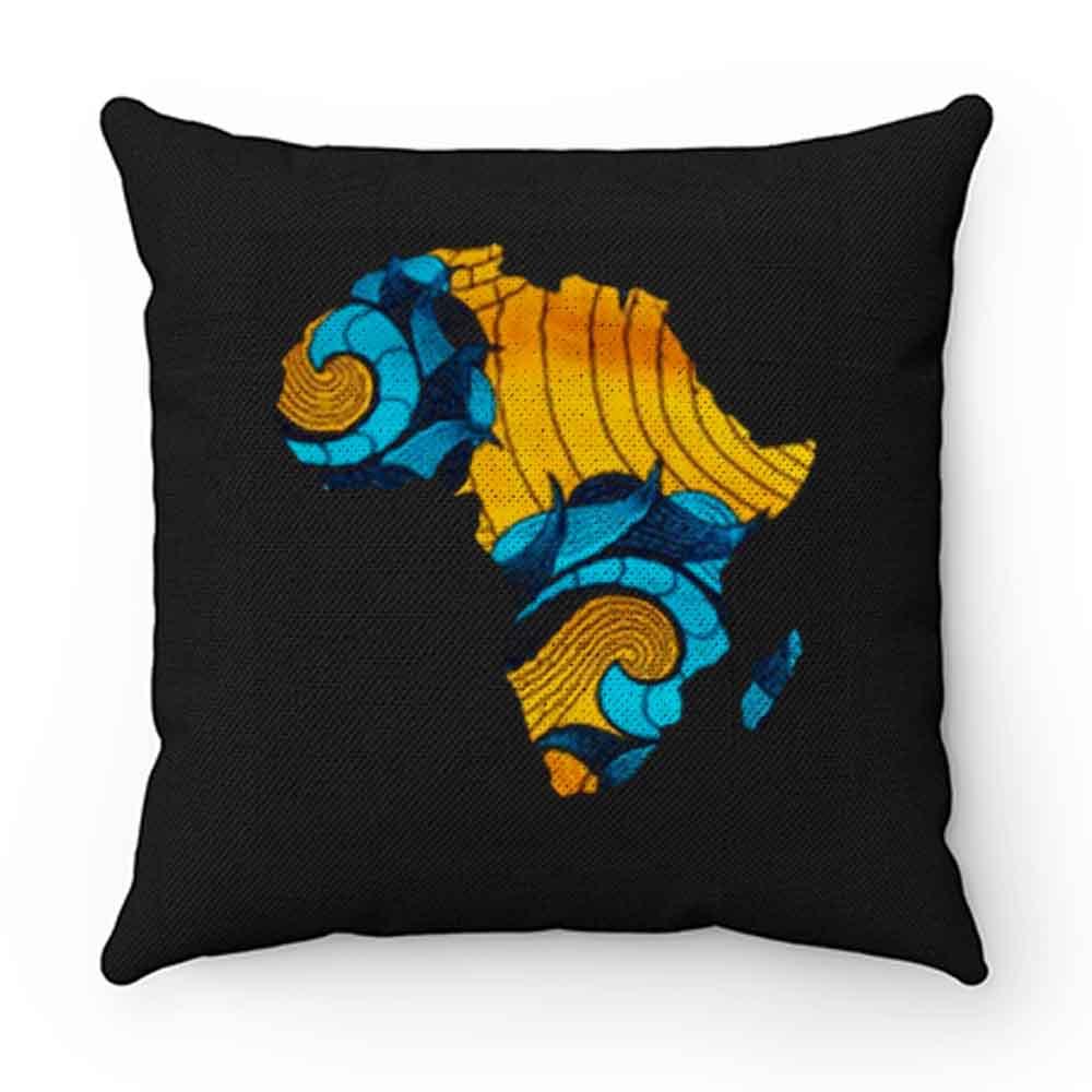 Black Pride Melanin Map Of Africa Pillow Case Cover