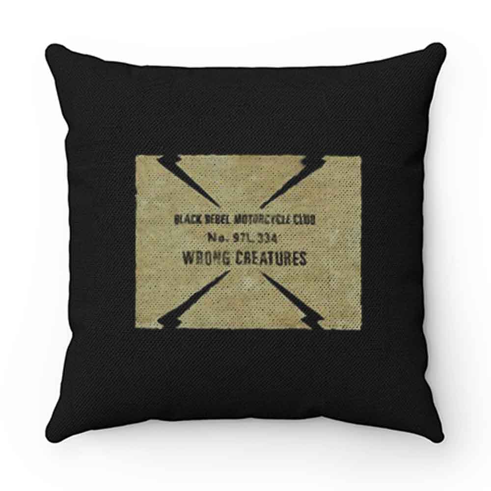 Black Rebel Motorcycle Club Pillow Case Cover
