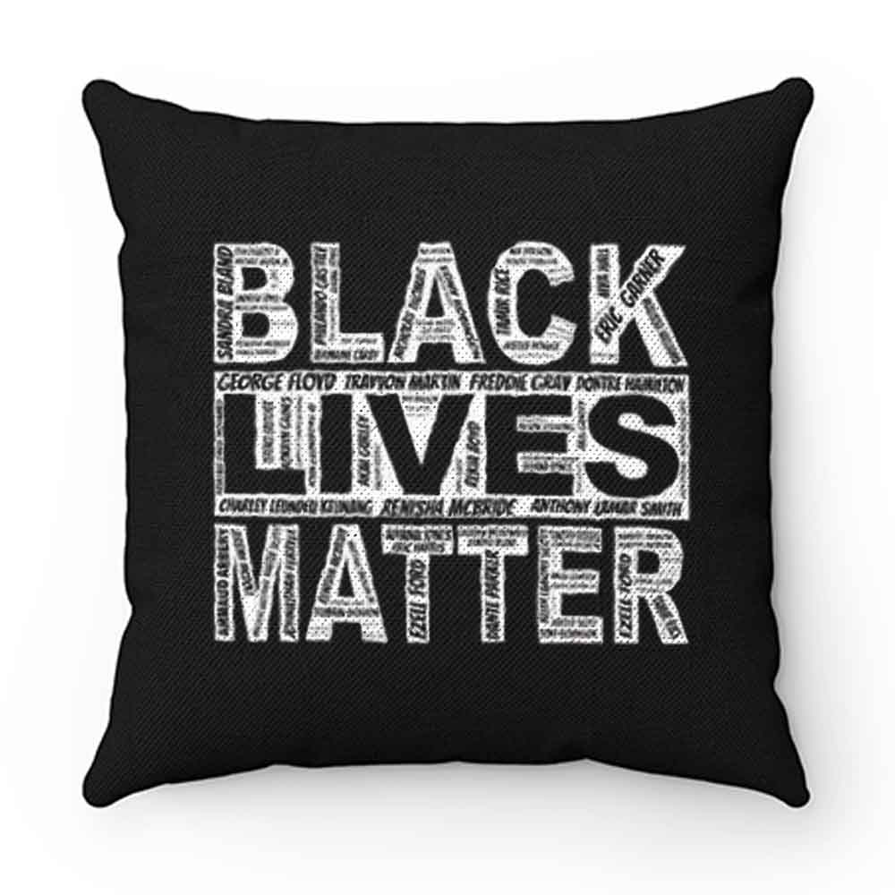 Black lives Matter peaceful protest Pillow Case Cover