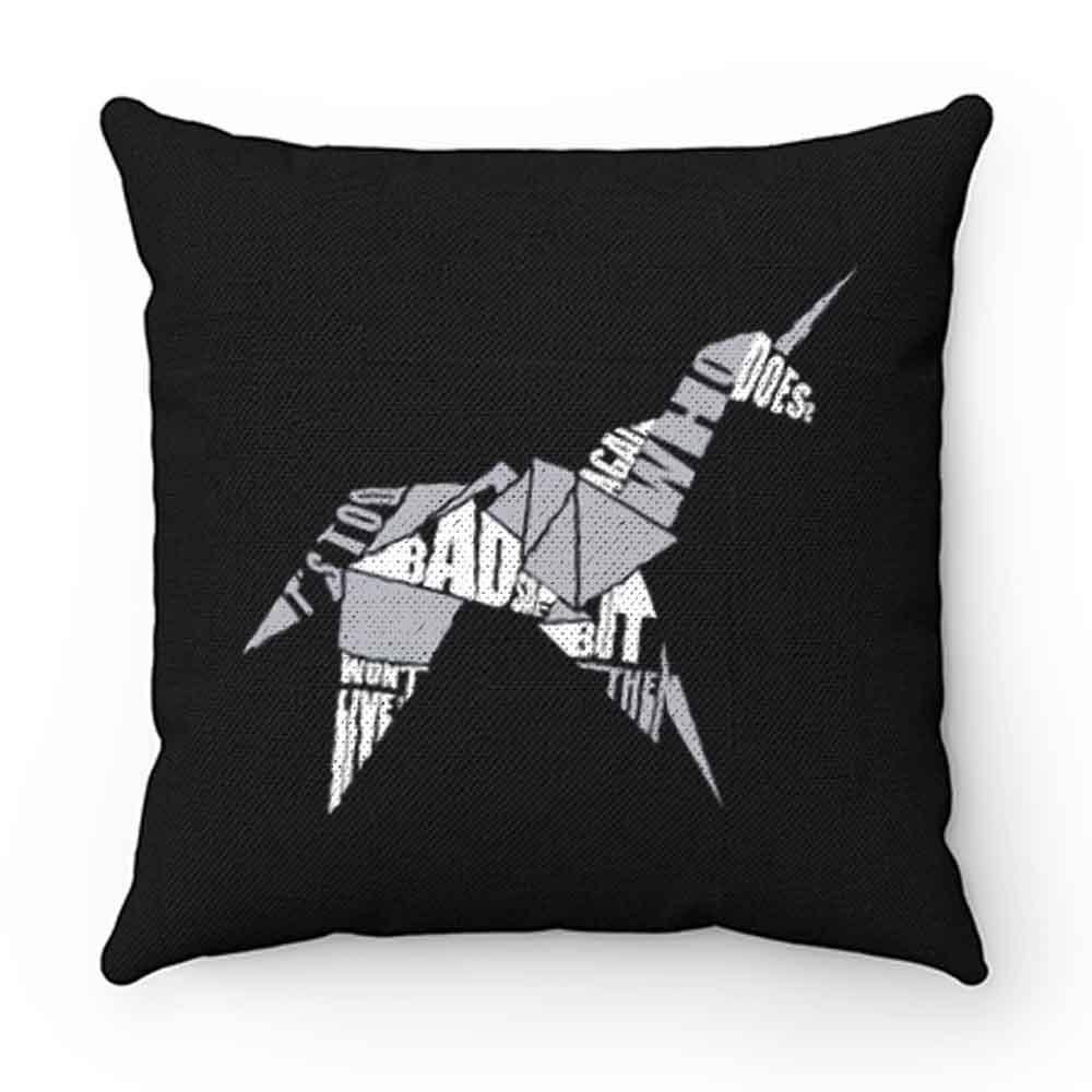Blade Runner Origami Unicorn Pillow Case Cover