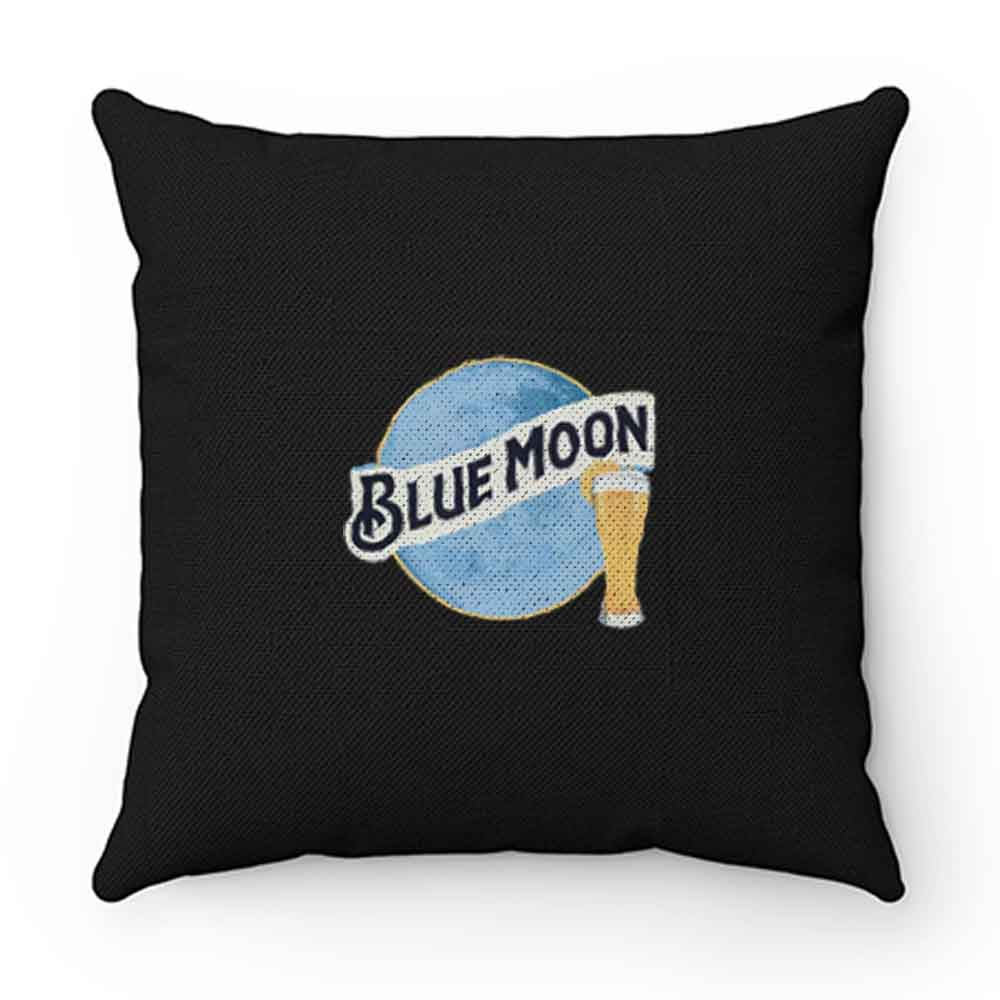 Blue Moon Beer Pillow Case Cover
