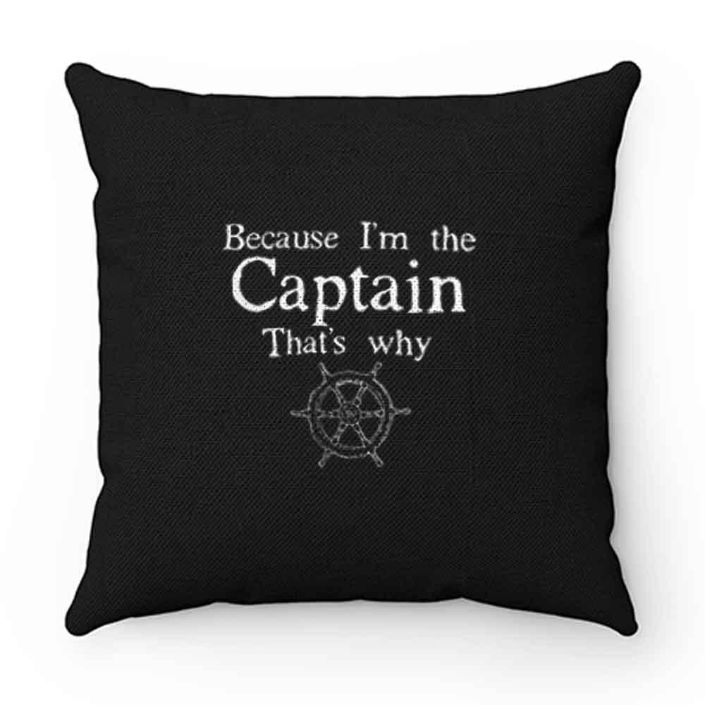 Boat Captain Pillow Case Cover