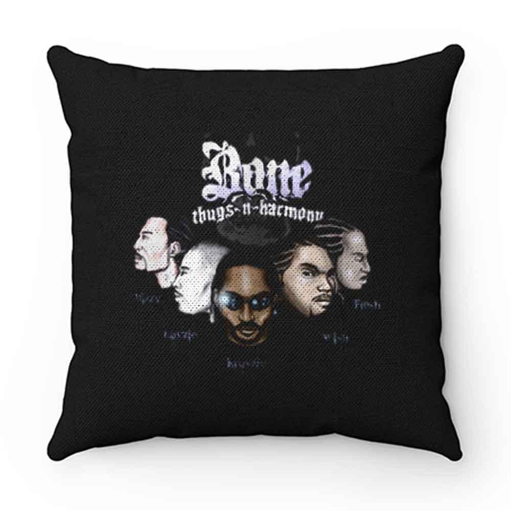 Bone Thugs N Harmony Rap Hip Hop Music Pillow Case Cover