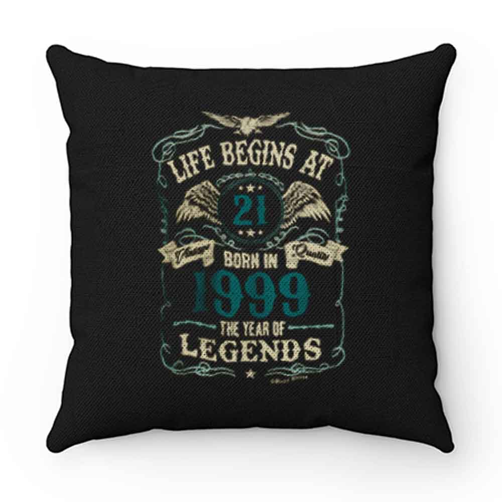 Born In 1999 Year Of Legends Pillow Case Cover