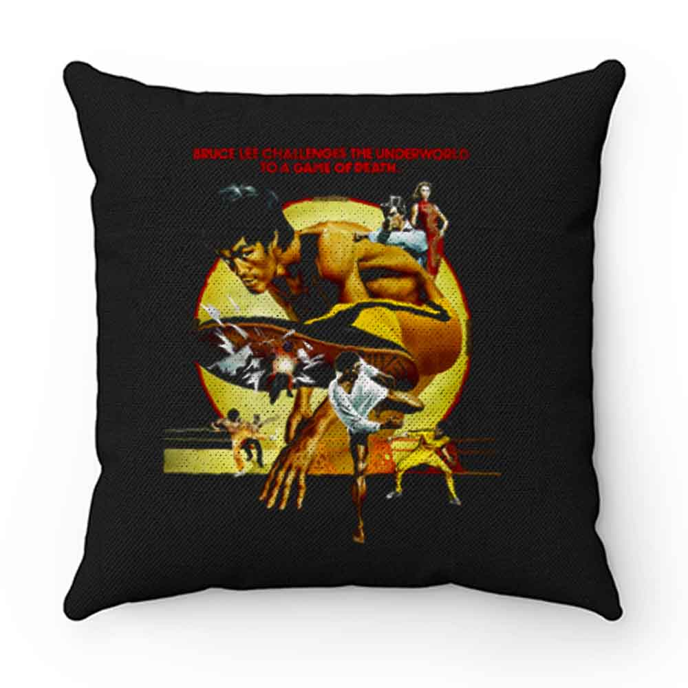 Bruce Lee Enter the Dragon 1978 Movie Pillow Case Cover