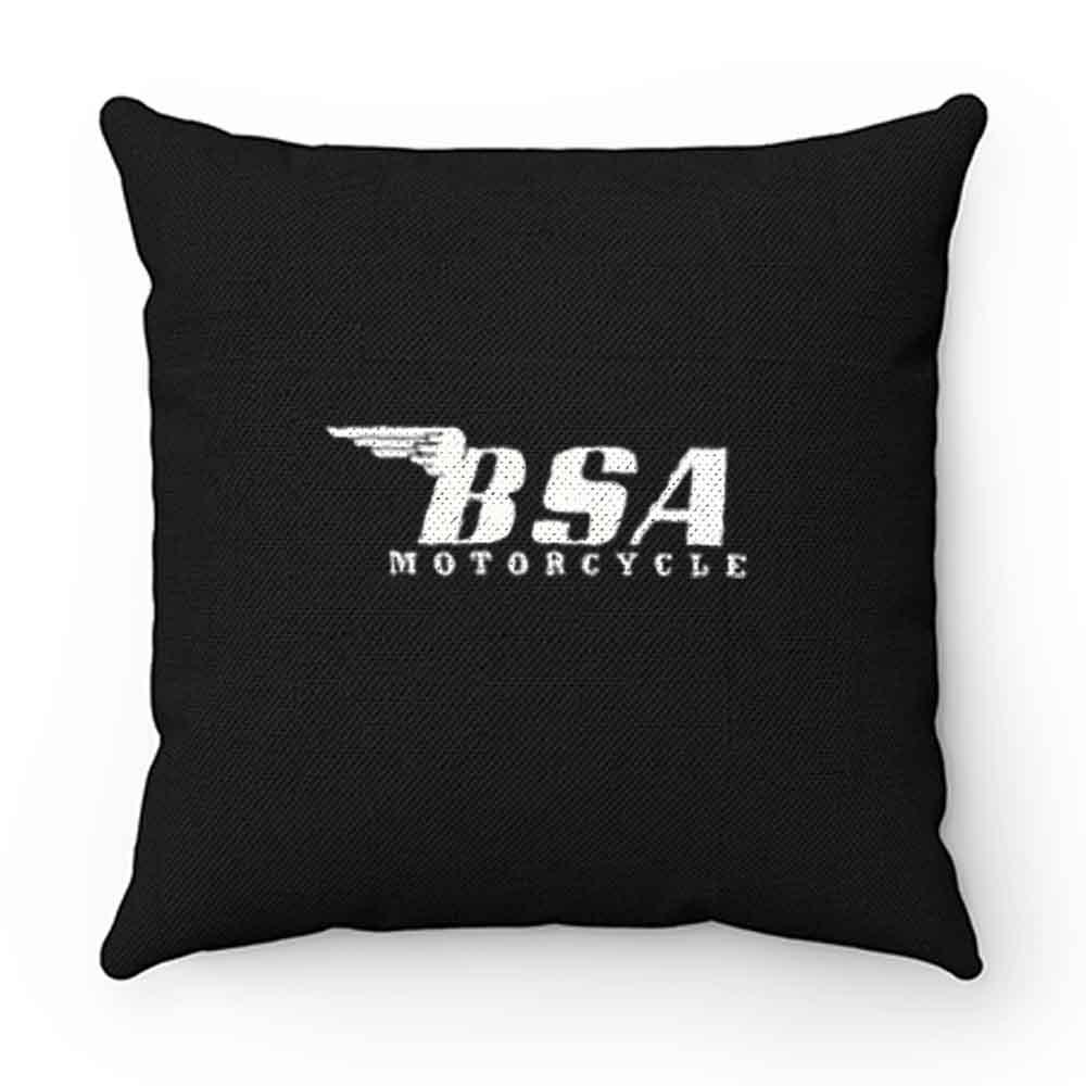 Bsa Motorcycle Retro Pillow Case Cover