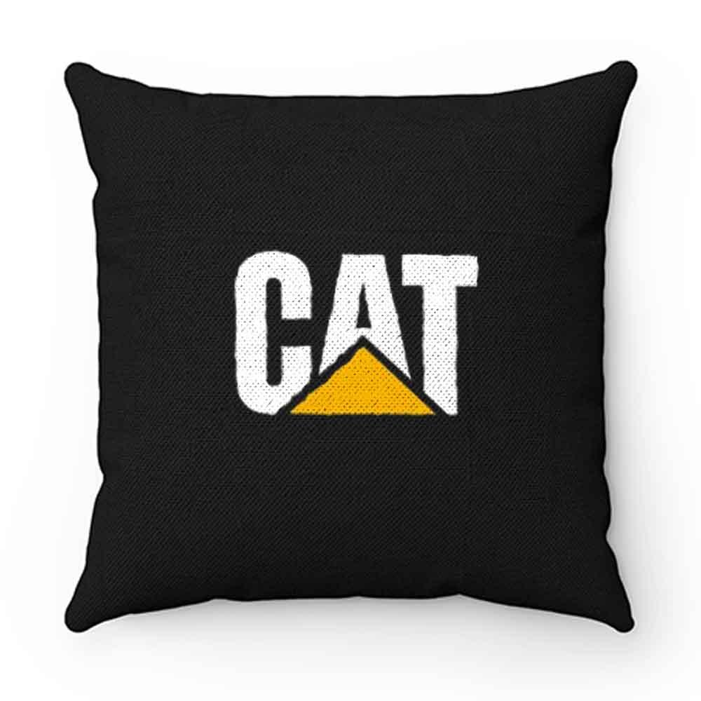 Bulldozer Digger Cat Pillow Case Cover