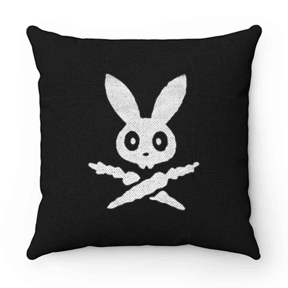 Bunny Skull Pillow Case Cover