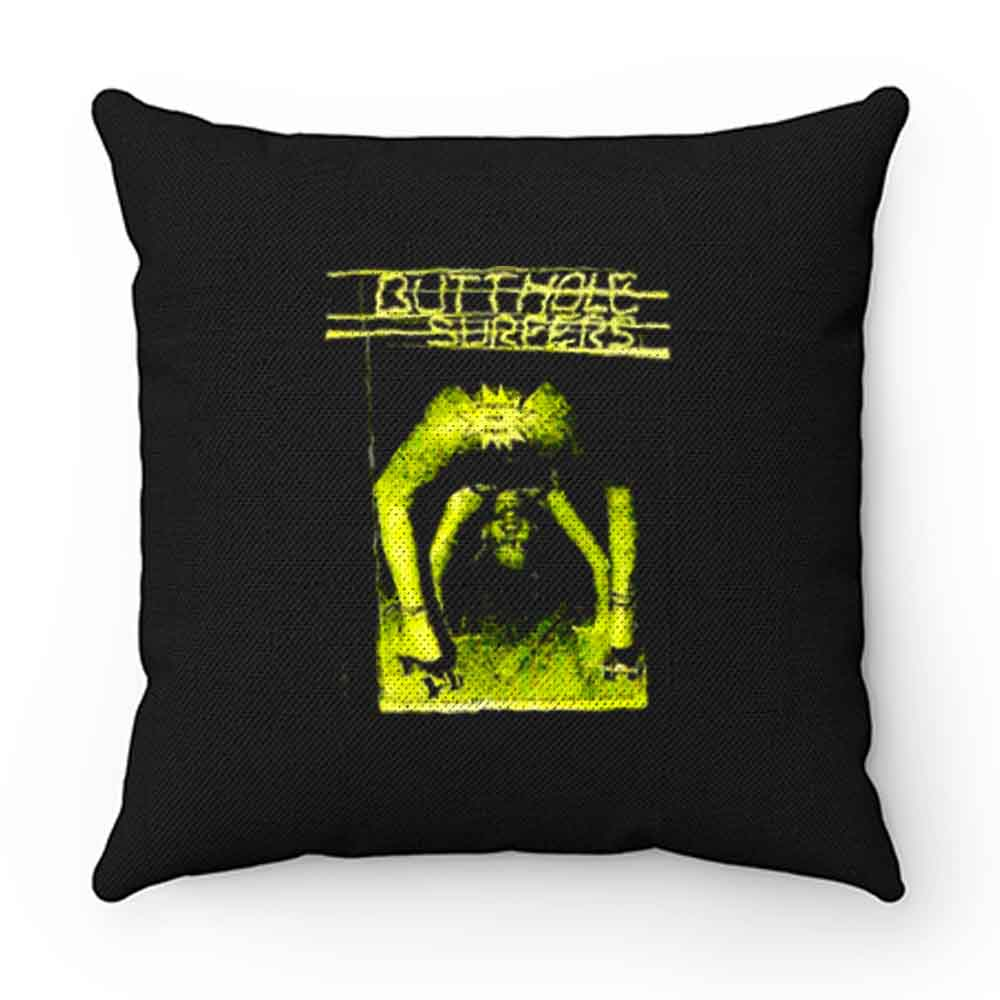 Butthole Surfers Scratch Sniff Pillow Case Cover