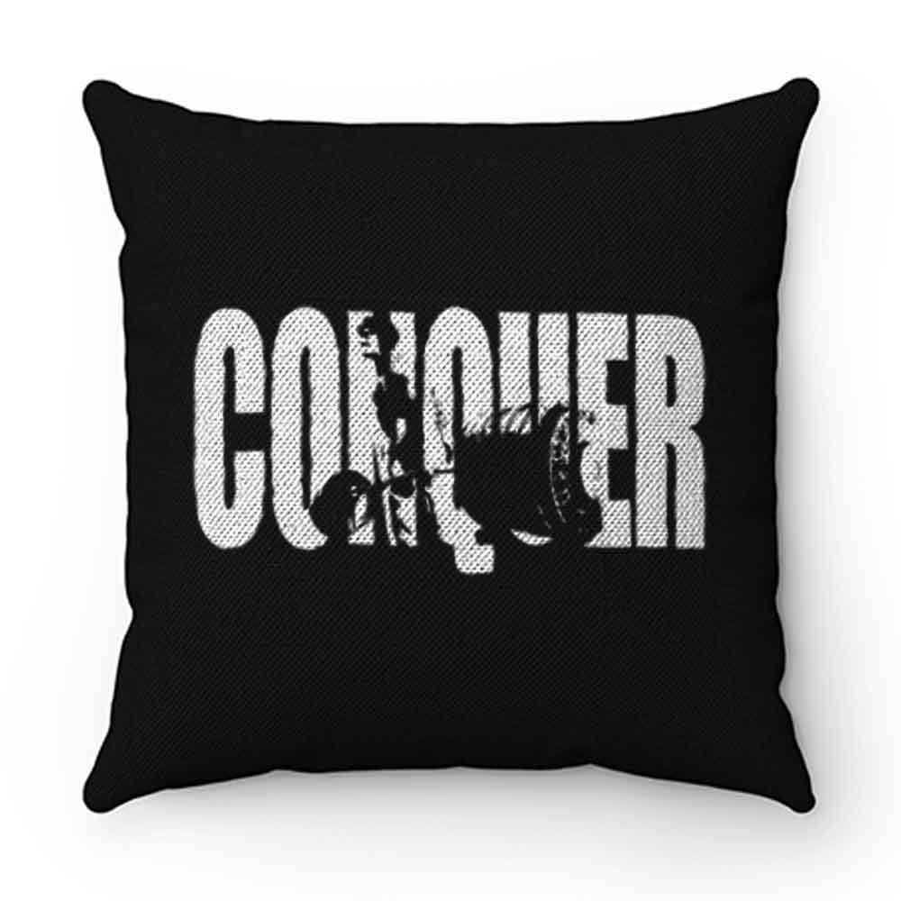 CONQUER Deadlift Bodybuilding Pillow Case Cover