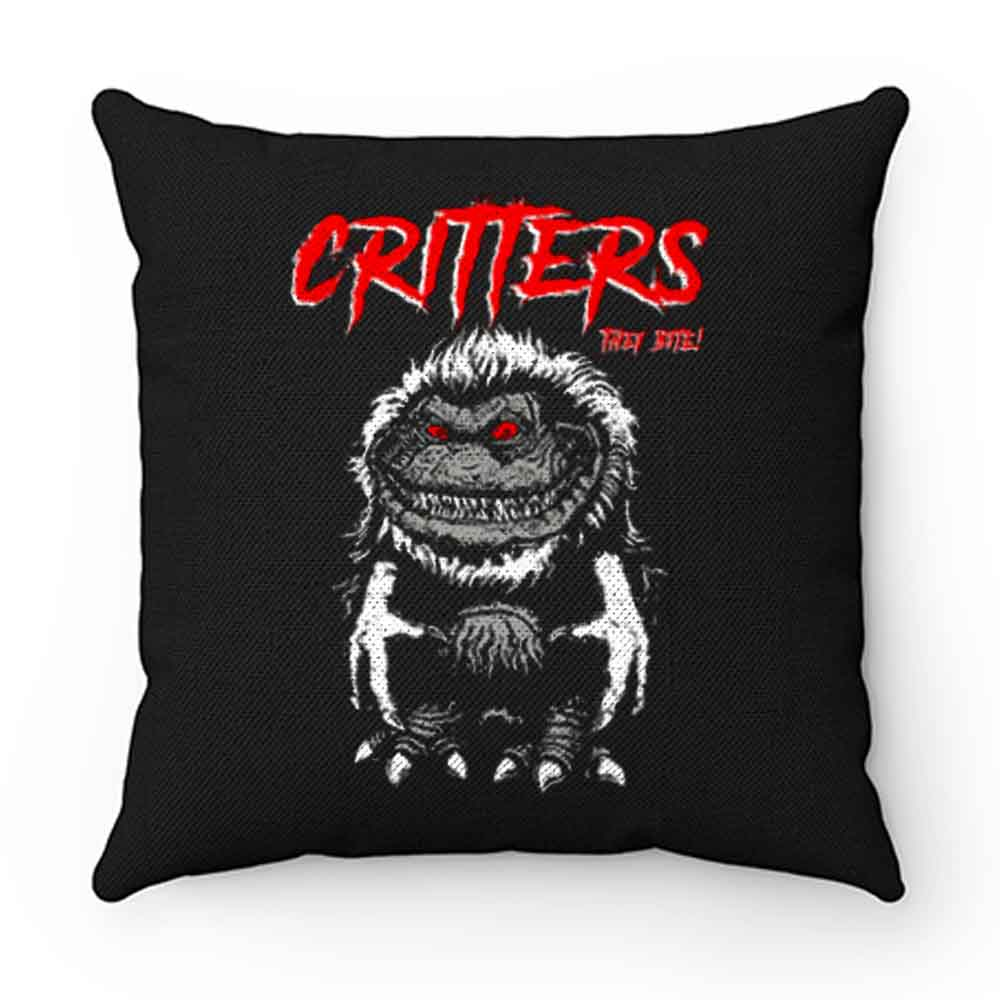 CRITTERS science fiction comedy horror Pillow Case Cover