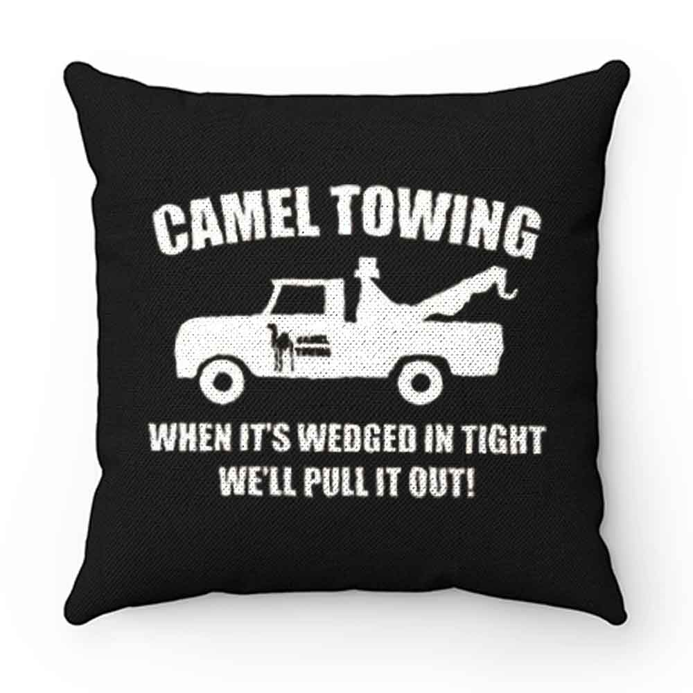 Camel Towing Adult Humor Rude Pillow Case Cover