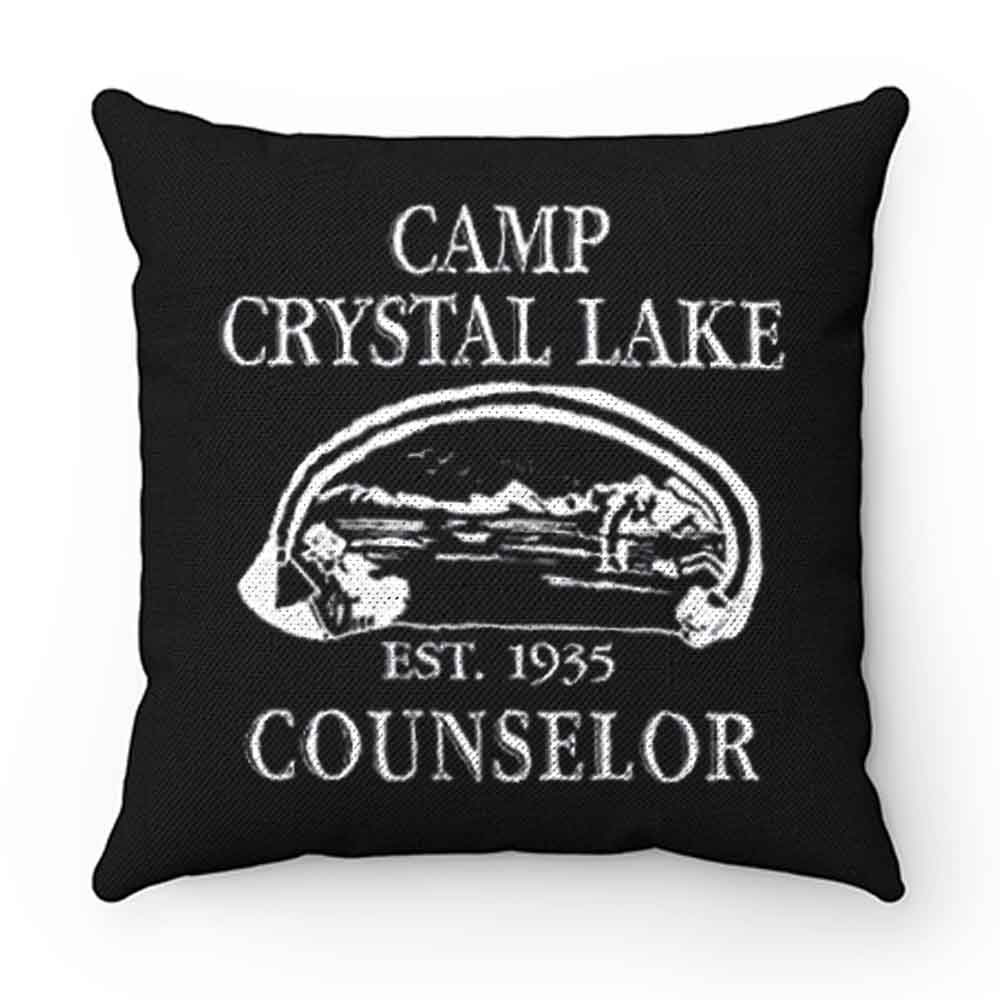 Camp Crystal Lake Counselor Pillow Case Cover