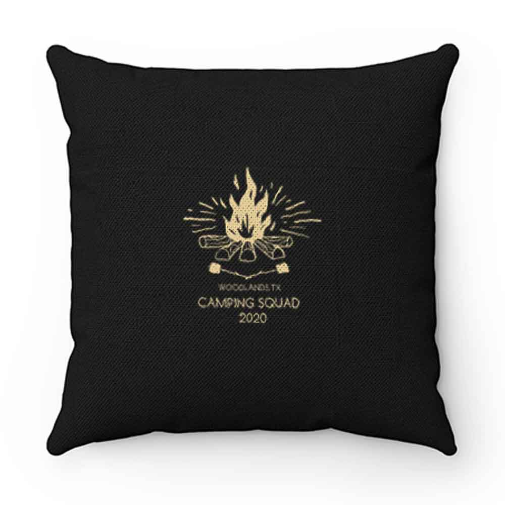 Camp Squad Pillow Case Cover