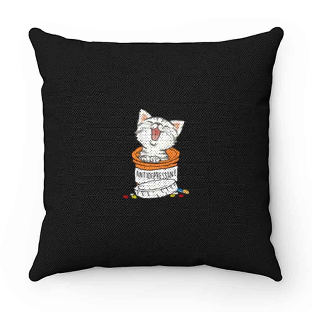 Capsule Cat Funny Kitten Pillow Case Cover