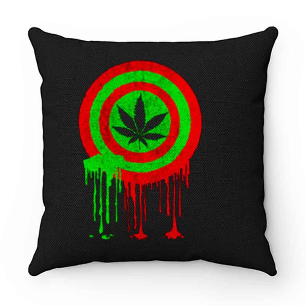 Captain Cannabis Pillow Case Cover