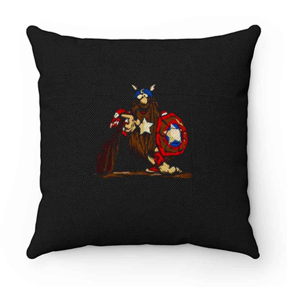 Captain Caveman Captain America Pillow Case Cover