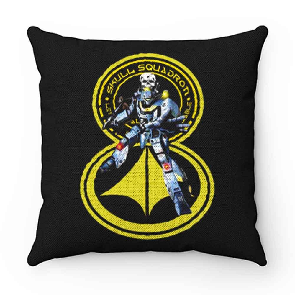 Cartoon Classic Robotech Skull Leader VF 1S Pillow Case Cover