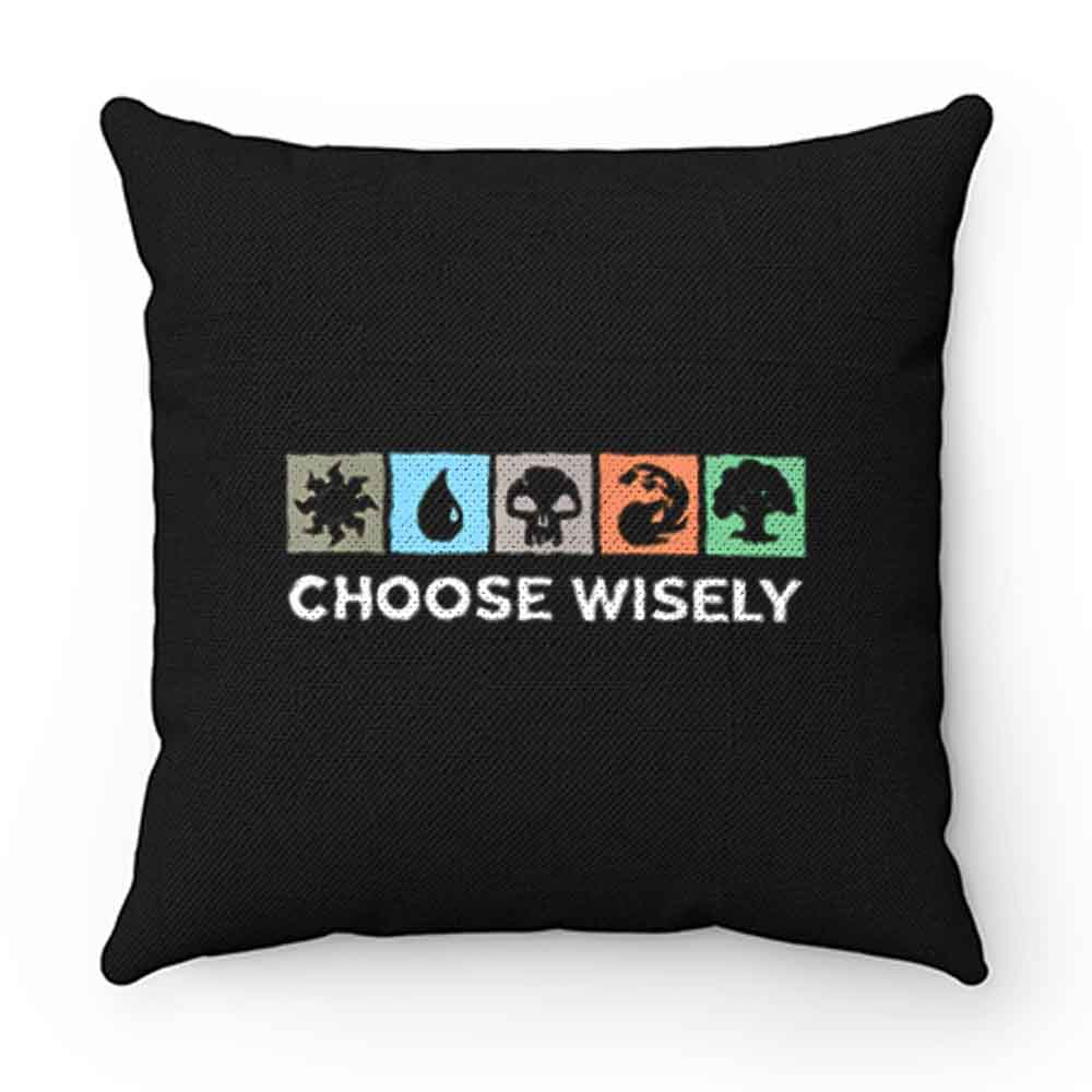 Choose Wisely Vintage Pillow Case Cover