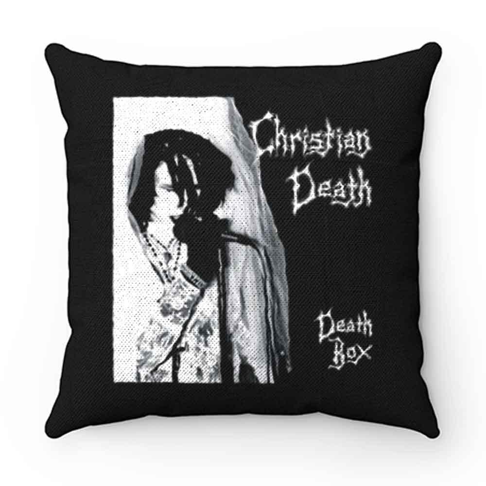 Christian Death Death Box Pillow Case Cover