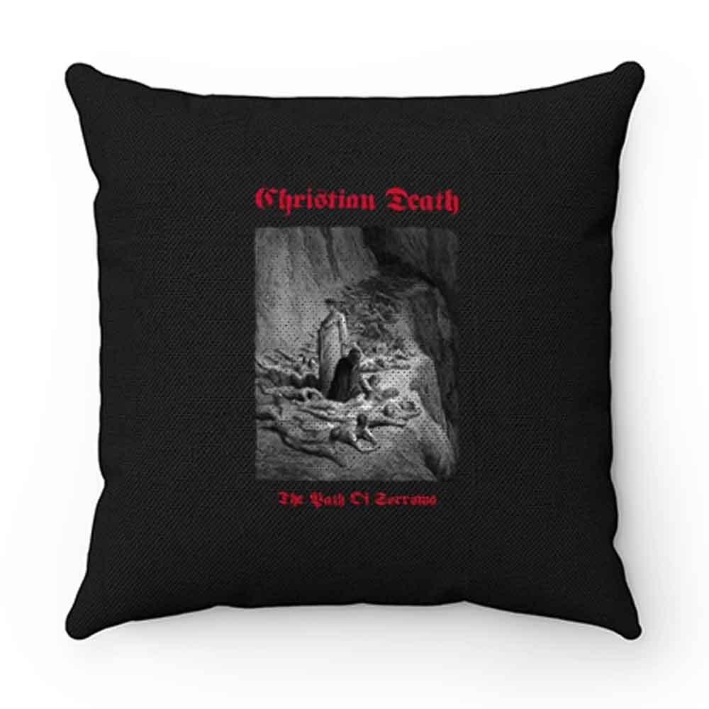 Christian Death Rozz Williams Deathrock Pillow Case Cover