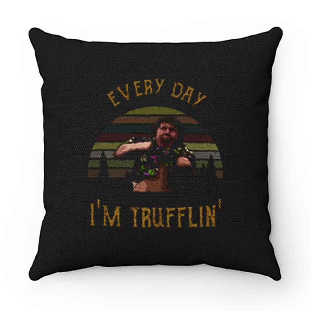Chunk Everyday Im Trufflin Sunset Pillow Case Cover