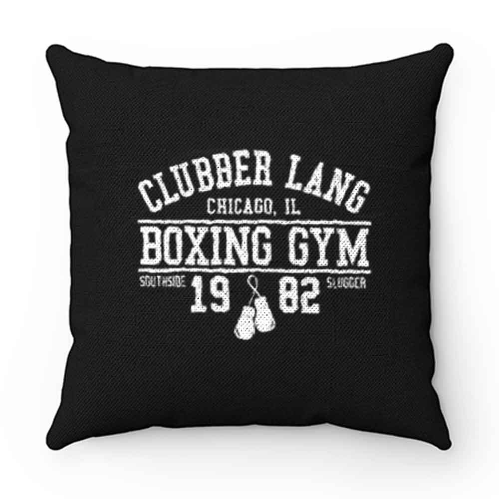 Clubber Lang Boxing Gym Retro Rocky 80s Workout Gym Pillow Case Cover