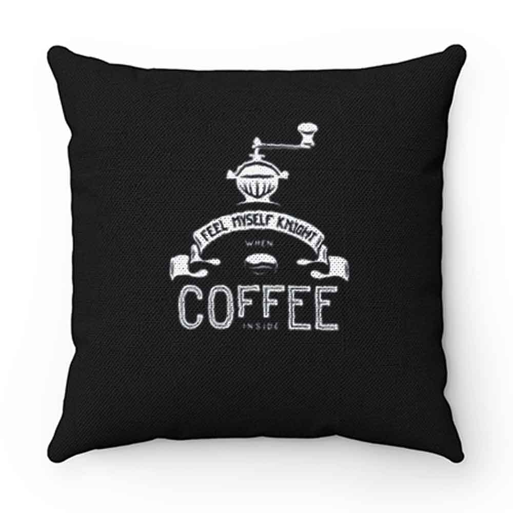 Coffee Knight Pillow Case Cover