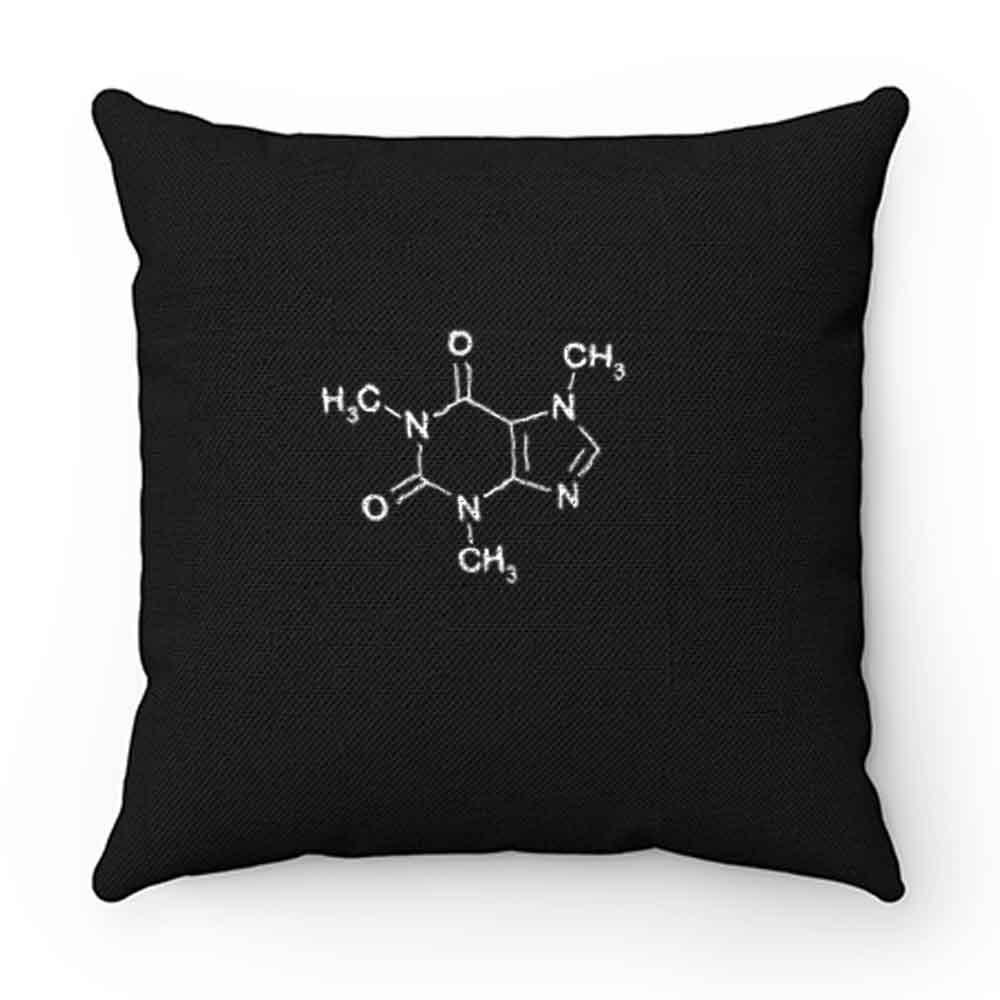 Coffee Molecul Coffee Lover Pillow Case Cover