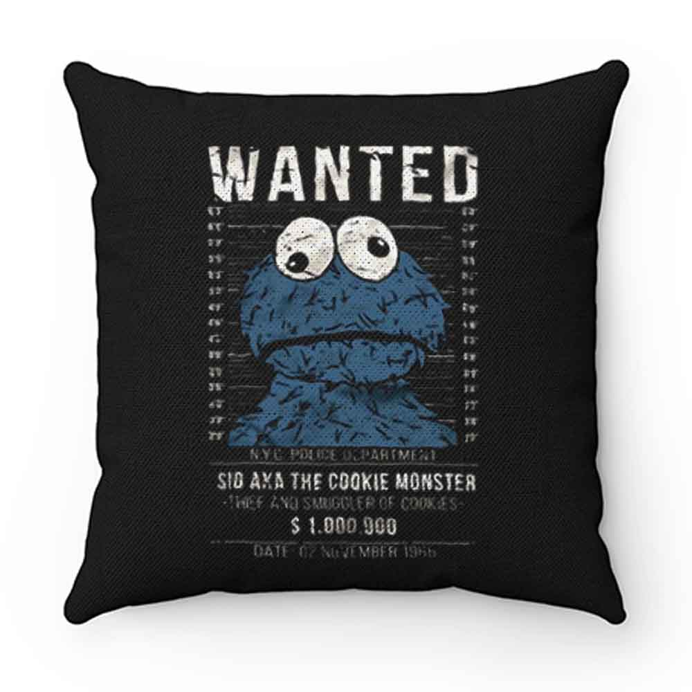 Cookie Smuggler Monster Funny Pillow Case Cover