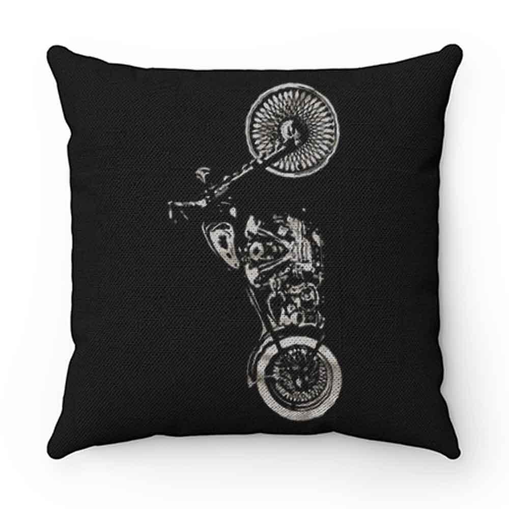 Cool Biker Motorbike Pillow Case Cover