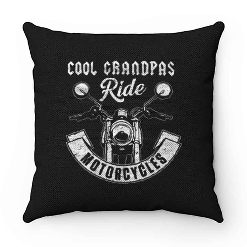 Cool Grandpa Ride Motorcycles Pillow Case Cover