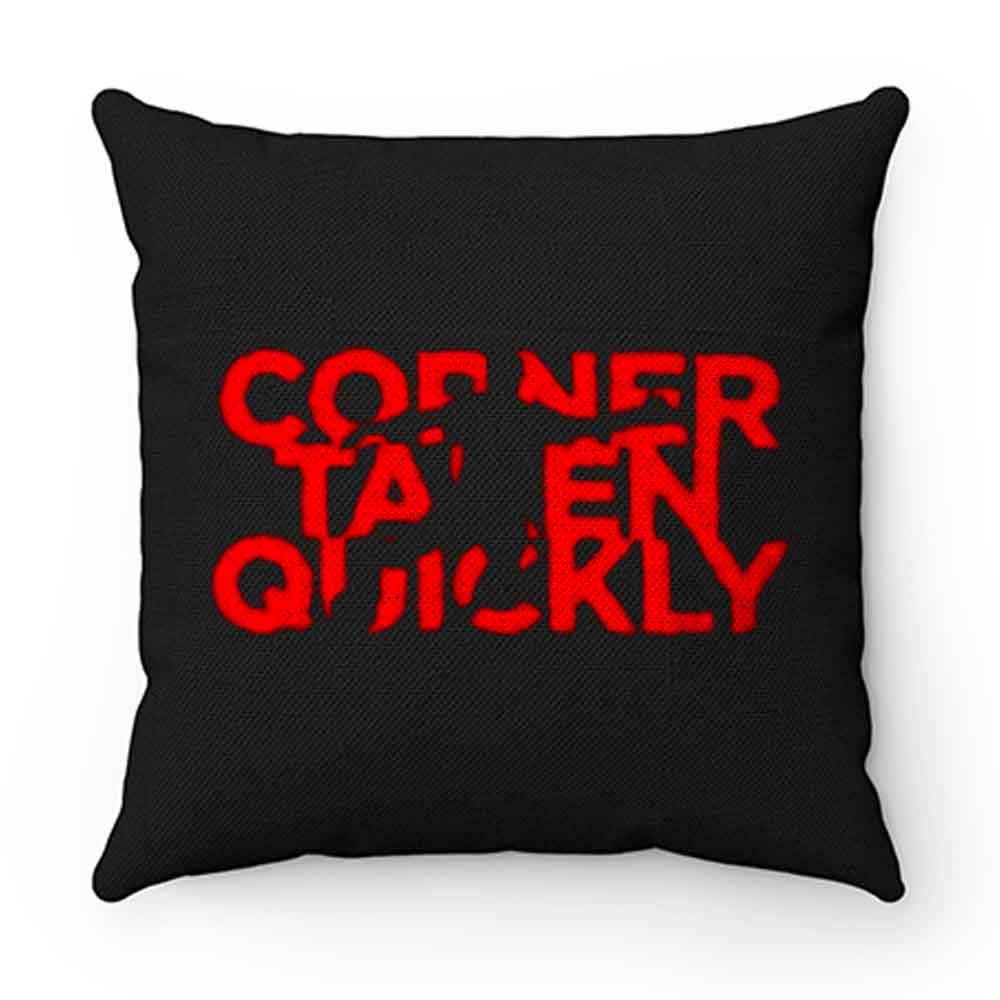 Corner Taken Quickly Football Spirit Pillow Case Cover