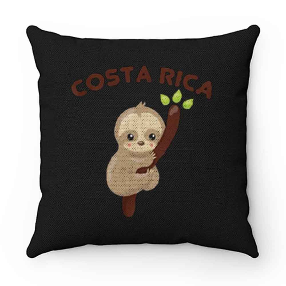 Costa Rica Vacation Pillow Case Cover