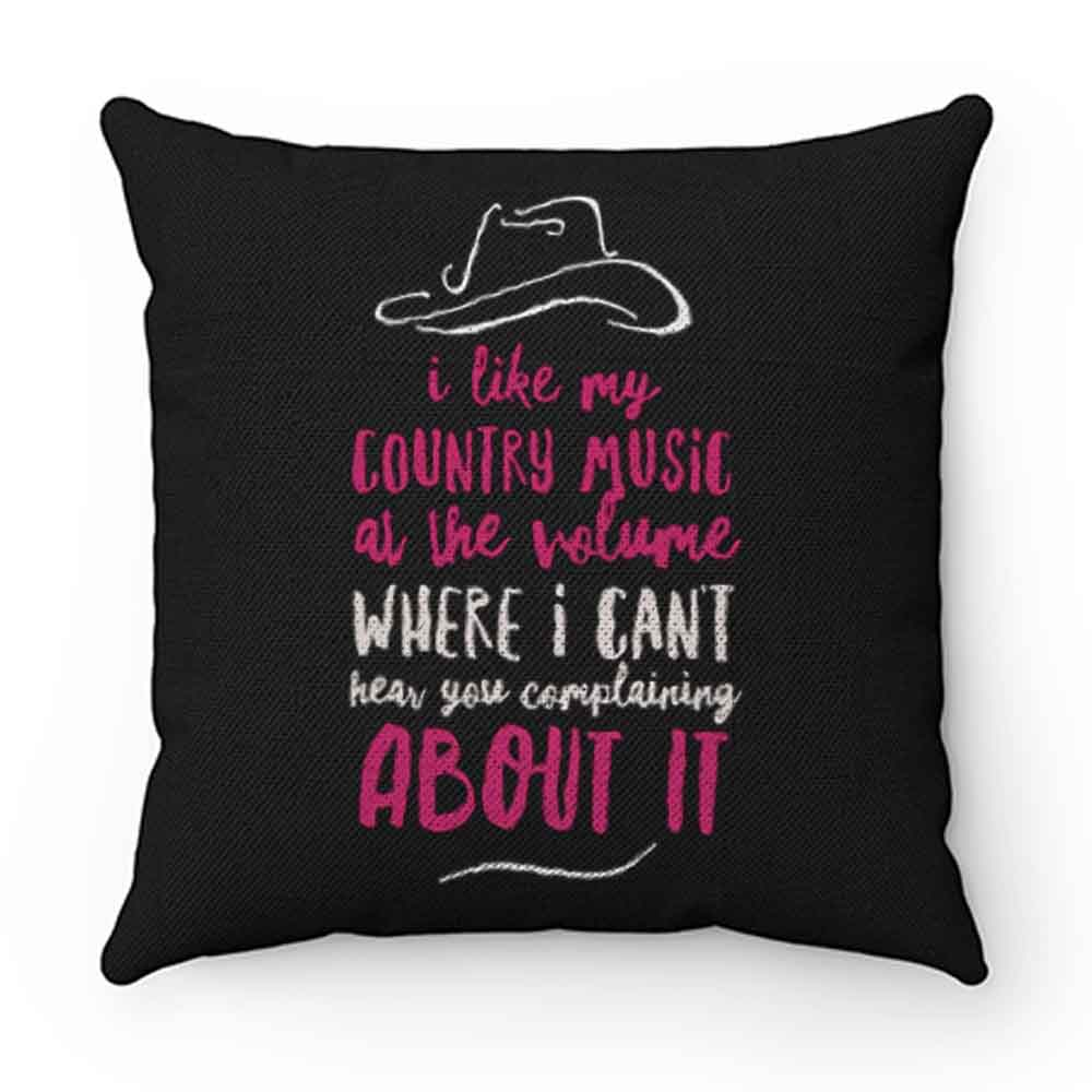 Country Music Pillow Case Cover