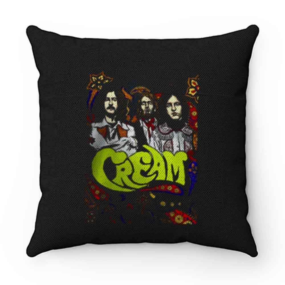 Cream Band Eric Clapton Vintage Pillow Case Cover