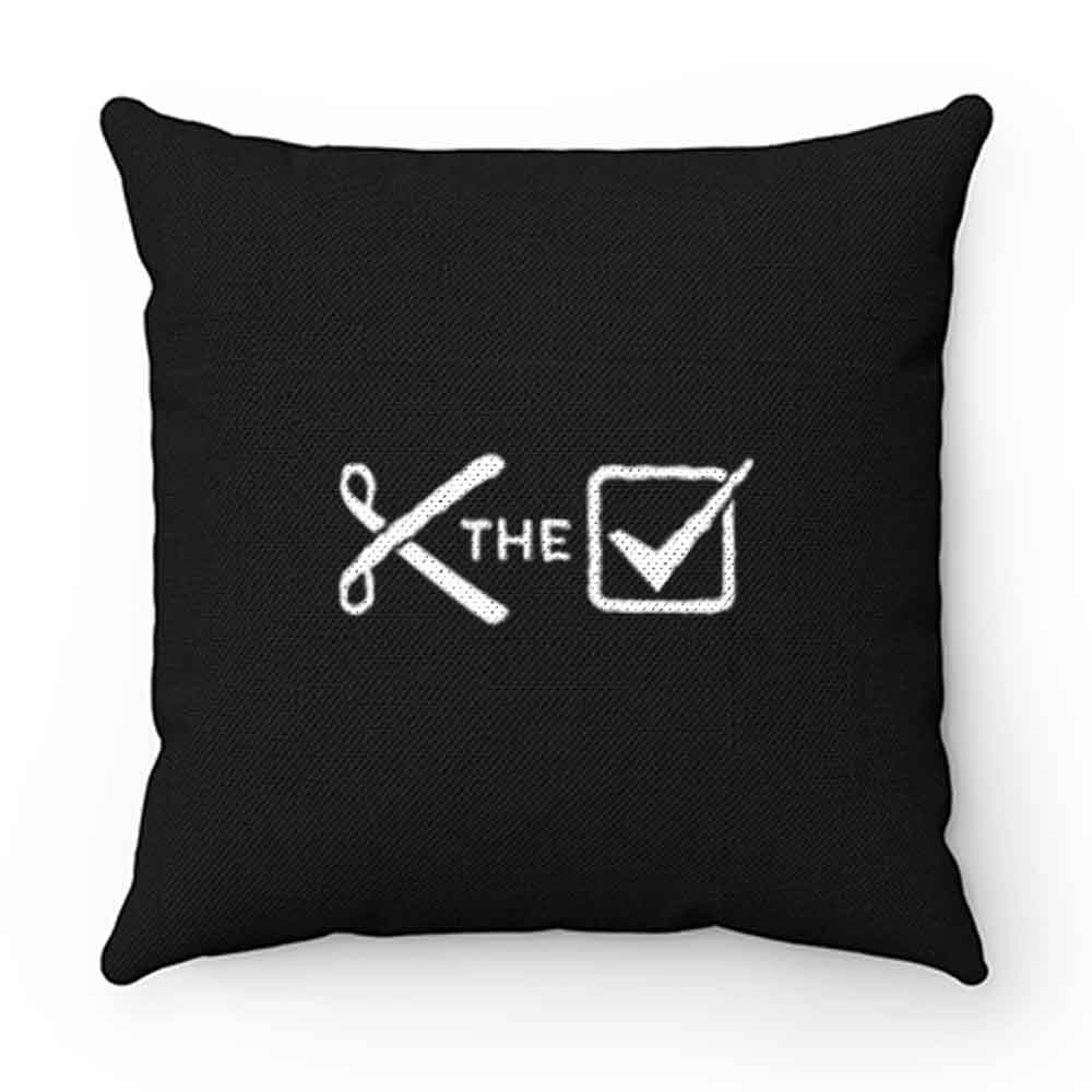 Cut the check Pillow Case Cover