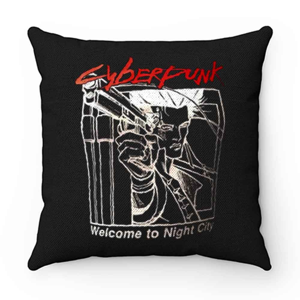 Cyberpunk Welcome Night City 2020 Pillow Case Cover