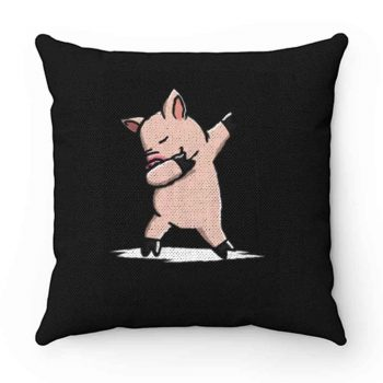 Dabbing Mini Pig Pillow Case Cover