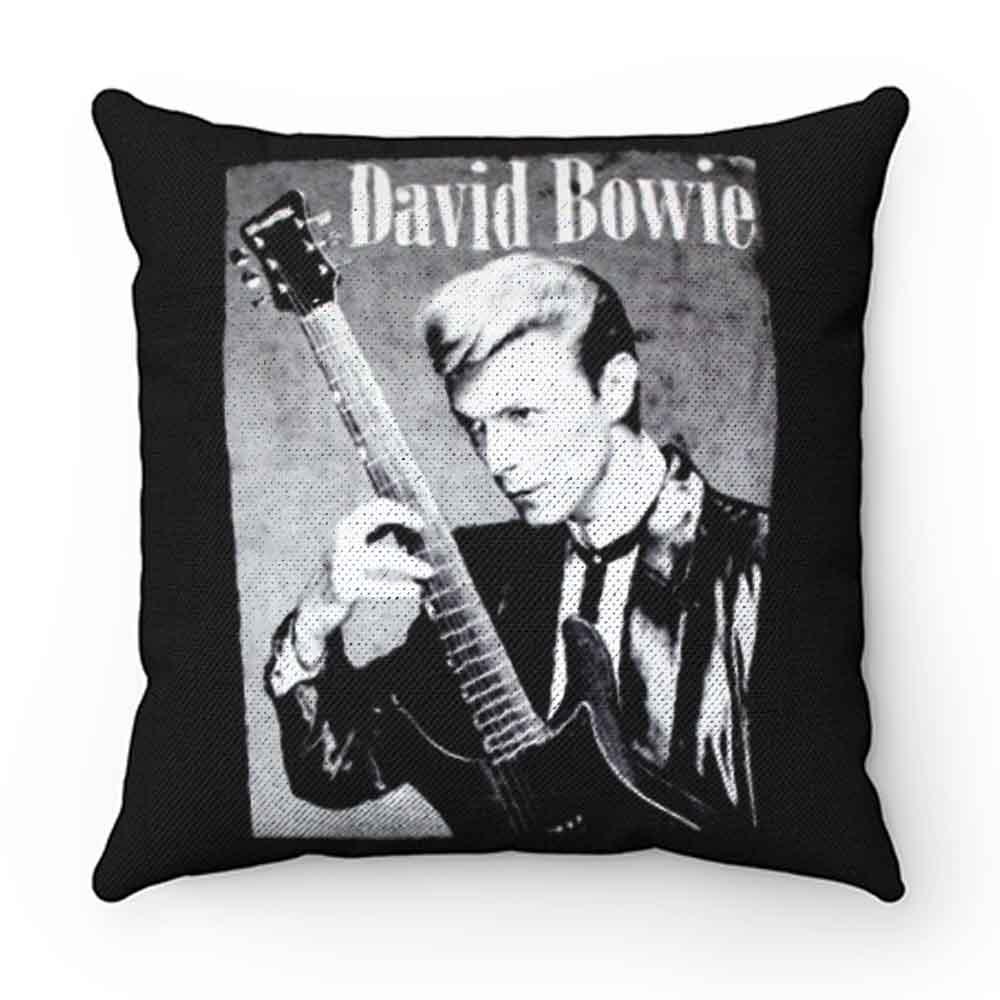 David Bowie Classic Guitarist Pillow Case Cover
