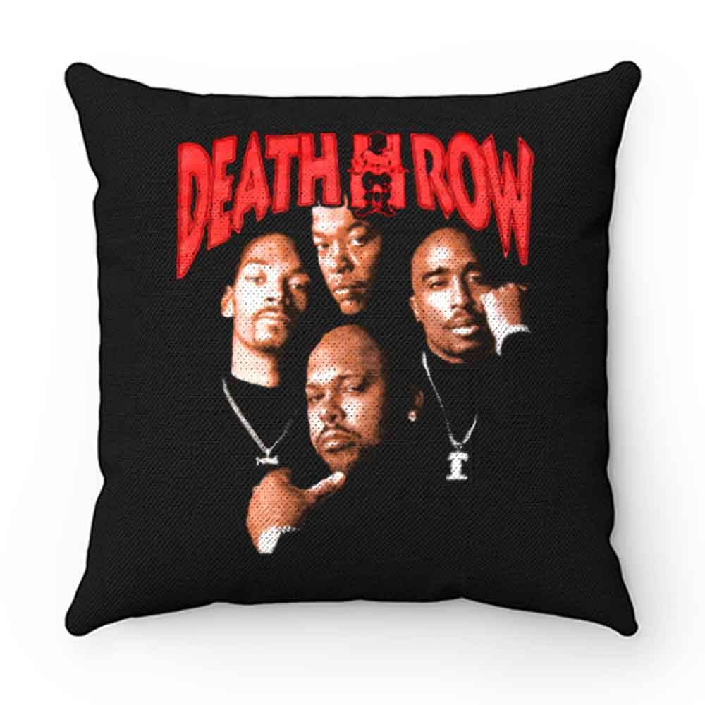 Death Row Records Tupac Dre Retro Pillow Case Cover