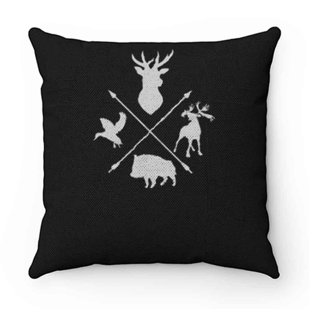 Deer Moose Waterfowl Boar Archery Pillow Case Cover