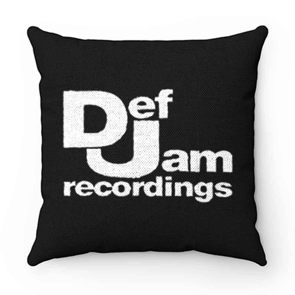 Def Jam Recordings Hip Hop Classic Music Pillow Case Cover