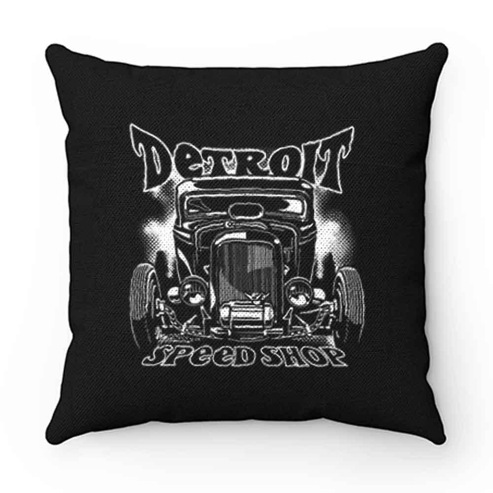 Detroit Speed Shop Deuce Coupe Pillow Case Cover