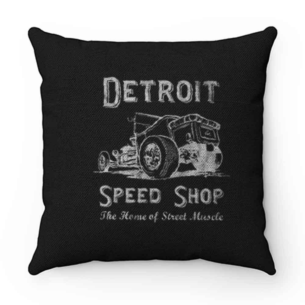 Detroit Speed Shop Tubber Pillow Case Cover