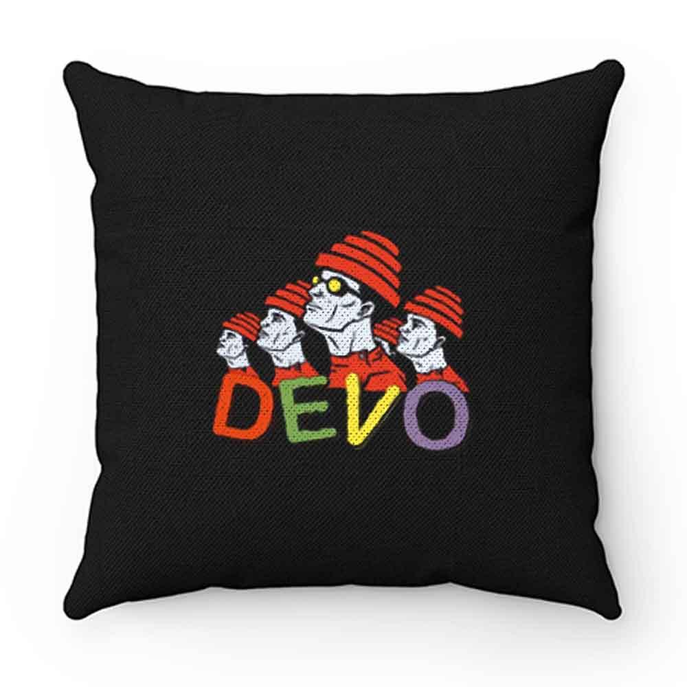 Devo Rock Band Pillow Case Cover