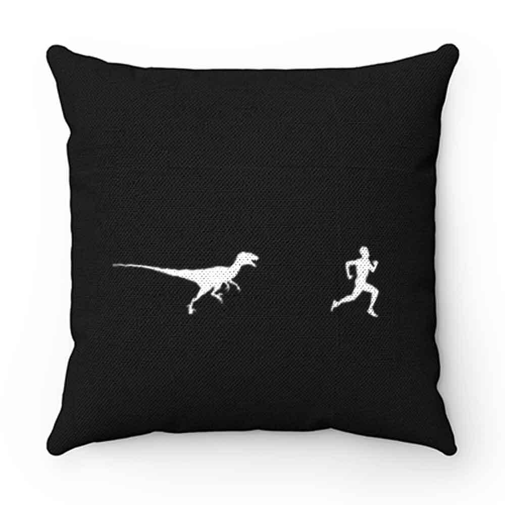 Dinosaur Running Pillow Case Cover
