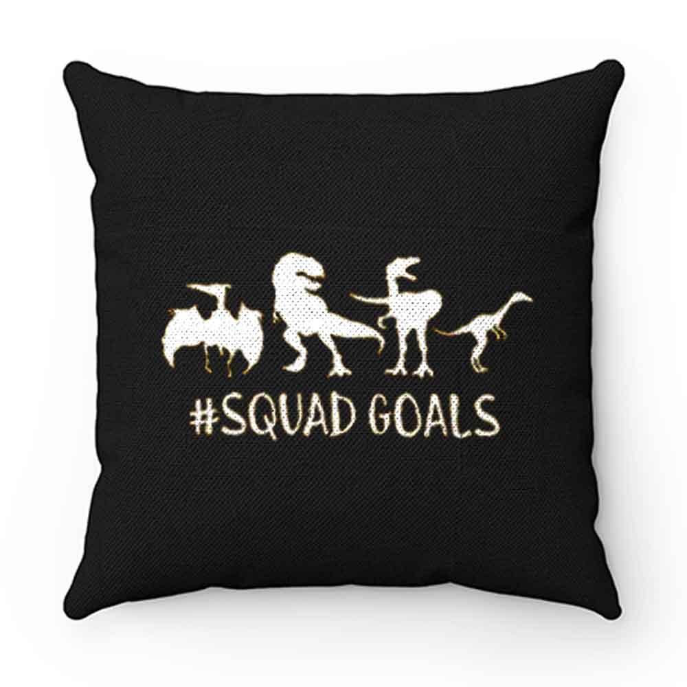 Dinosaur Squad Goals Funny Pillow Case Cover
